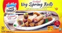 Vadilal Veg Spring Rolls 2pcs 340g