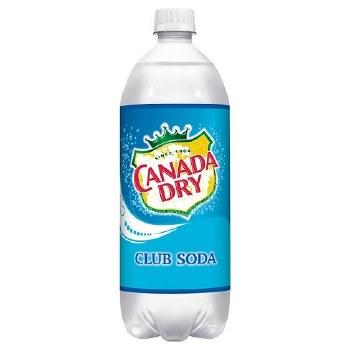 Canada Dry Club Soda 1L