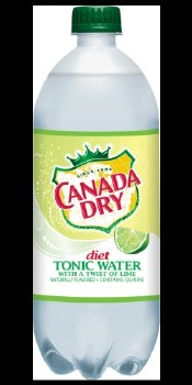 Canada Dry Dt Tonic Water 1L