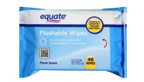 Equate Flushable Wipes 48ct