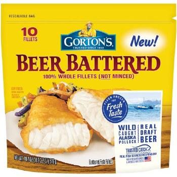 Gortons Beer Battered Fillets