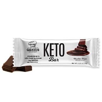 Genius Gourmet Keto Bar Peanut Butter Chocolate 1.09oz