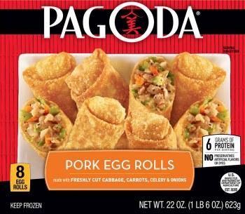 Pagoda Pork Egg Rolls 8ct