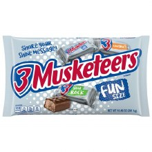 3 Musketeers Fun Size 10.48