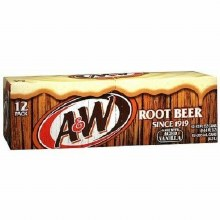 A&W RootBeer 6pk Bottle