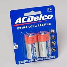 AC Delco C Battery 2pk
