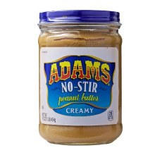 Adams No Stir Ceamy peanut Butter