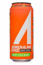 Adrenaline Shock Peach Mango 16oz