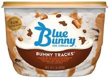 Blue Bunny Bunny Tracks 46oz (1.43 qt)