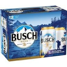 Busch 12oz 12pk Cans
