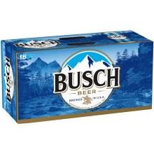 Busch 18 Pack 16oz Cans
