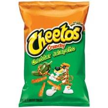 Cheetos Cheddar Jalepeno Crunchy 8 1/2oz