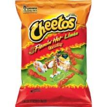 Cheetos Crunchy Flamin Hot Limon 3 1/4oz