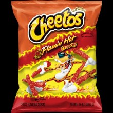 Cheetos Flamin Hot Crunchy