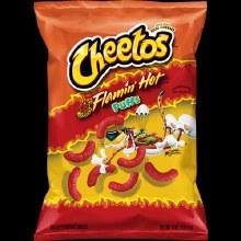 Cheetos Falmin Hot Puffs 3oz