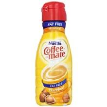 Coffee Mate Fat Free Hazelnut 32oz