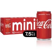 Coke 10pk 7.5oz Can