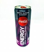 Coke Energy Zero Cherry