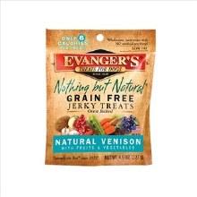 Evanger's Venison Jerky Treats 4.5oz