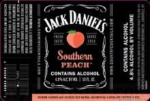 Jack Daniels Southern Peach 10oz Can