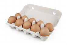 Jumbo Eggs 12pk Cherry Lane