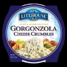 Litehouse Gorgonzola Crumb 4z