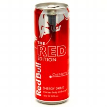 Red Bull Cranberry 12oz