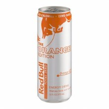Red Bull Orange 12oz
