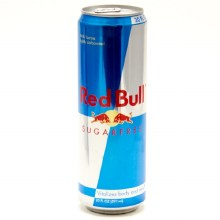 Red Bull Sugar Free 20oz