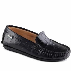 15007-W Black Croc 24