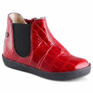 Calvin-n Red Croc 19