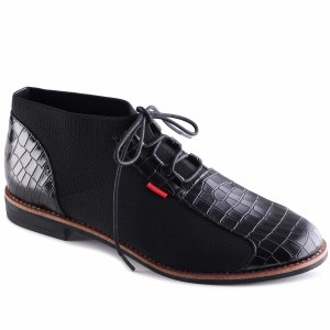 Flack Black Croc 5