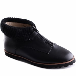 Fraida Black Leather 35