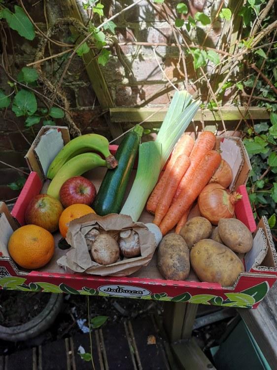 A £10 Organic Box