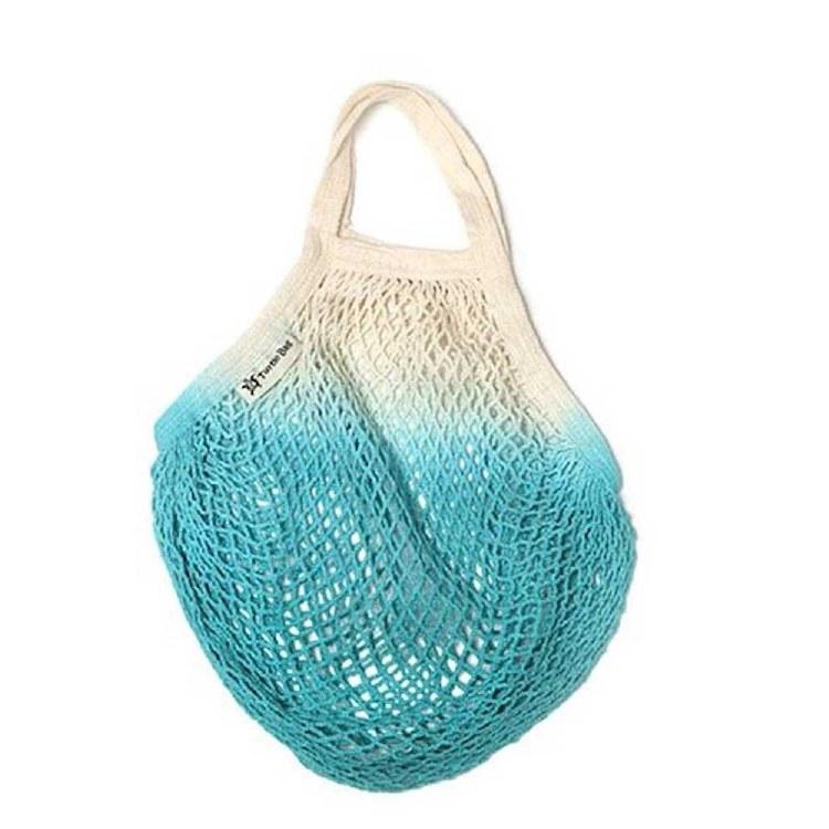 Dip Dyed Long Handled String Bag