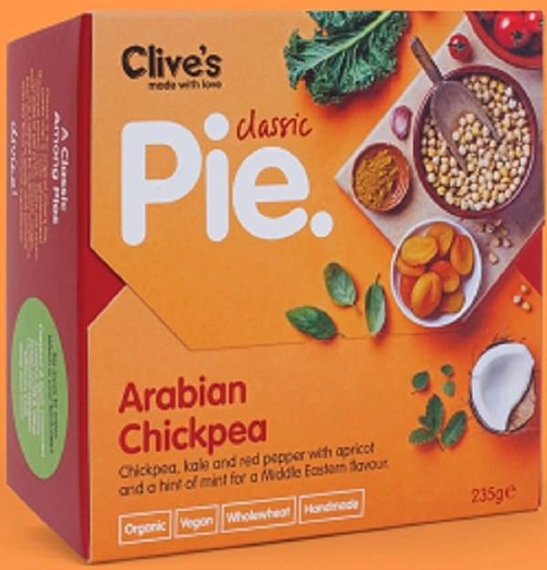 Organic Arabian Chickpea Pie