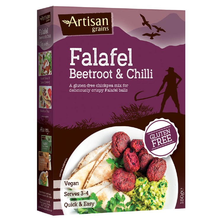 Falafel Mix - Beetroot & Chilli
