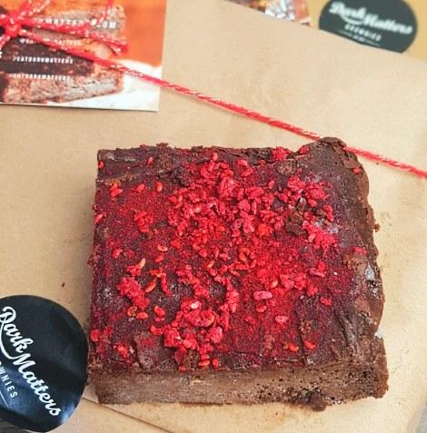 Brownie - Raspberry Double Choc
