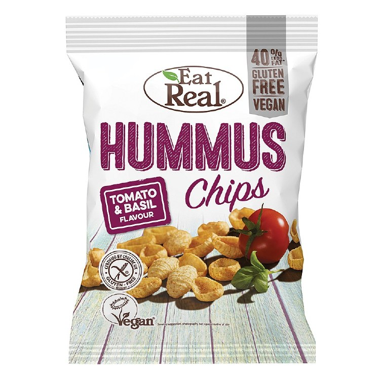 Hummus Chips - Tomato & Basil