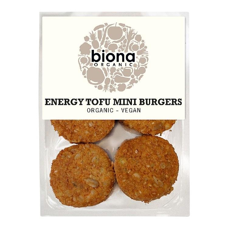 Organic Energy Tofu Mini Burgers