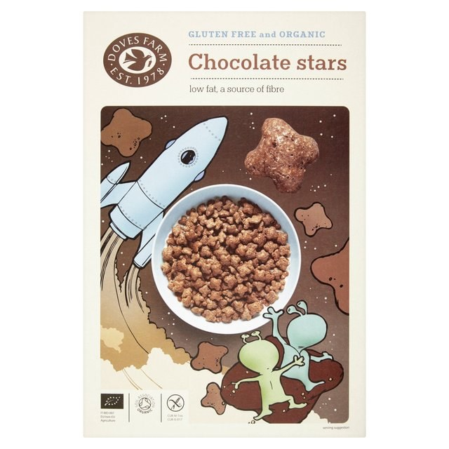 Organic Gluten Free Chocolate Stars