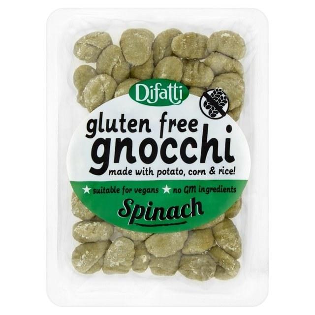 Spinach Gnocchi  Gluten Free