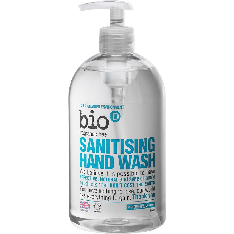 Fragrance Free Sanitising Hand Wash