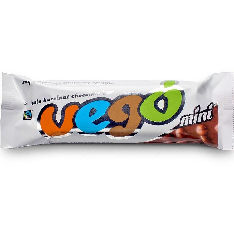 Organic Vego Hazelnut Chocolate Bar