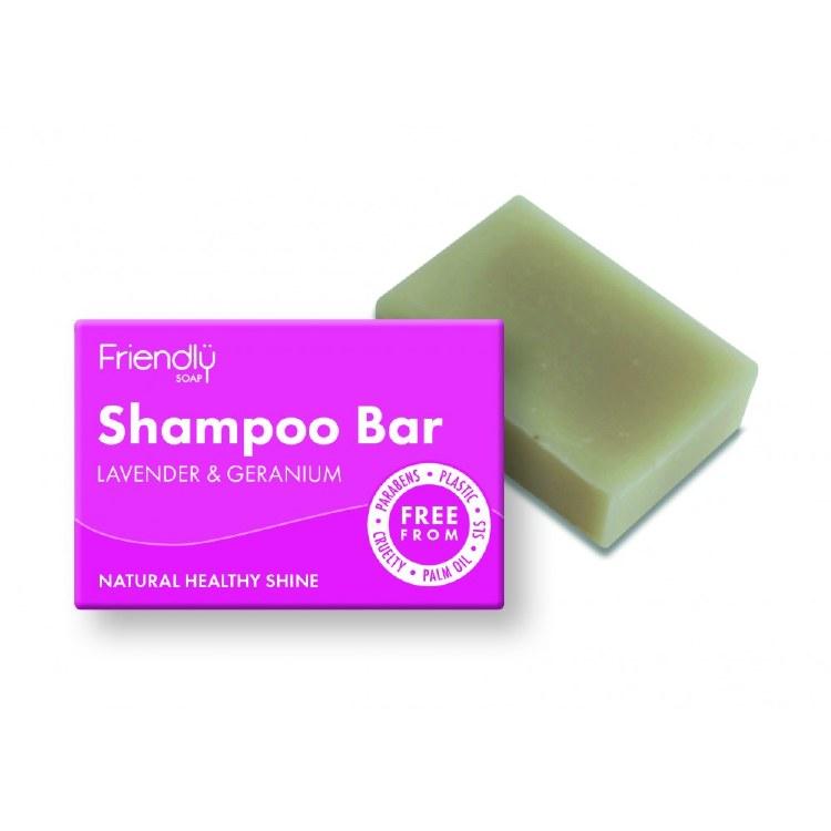 Natural Shampoo Bar - Lavender & Geranium