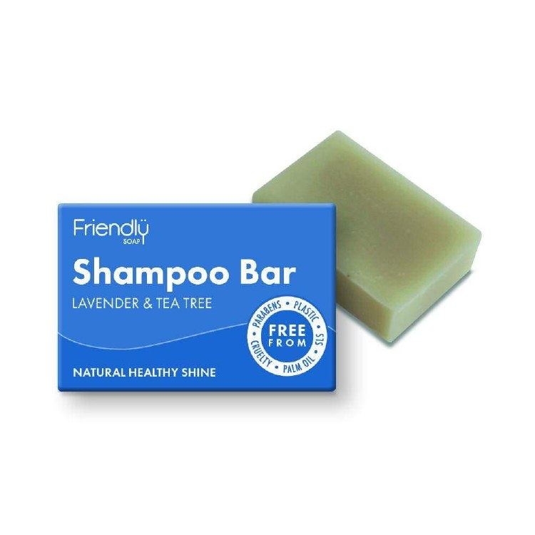 Natural Shampoo Bar - Lavender & Tea Tree