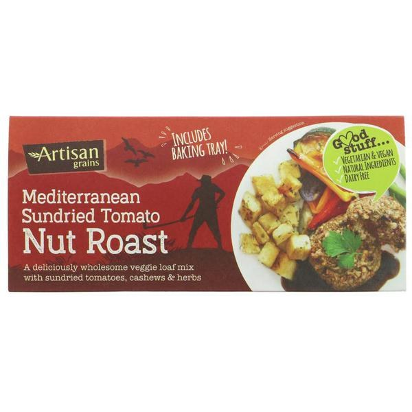 Mediterranean Sundried Tomato Nut Roast