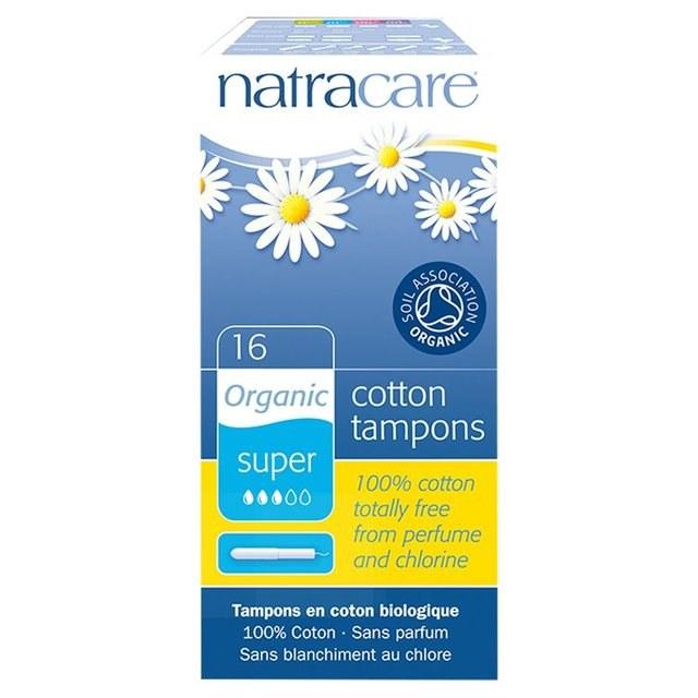 Organic Cotton Applicator Tampon Super