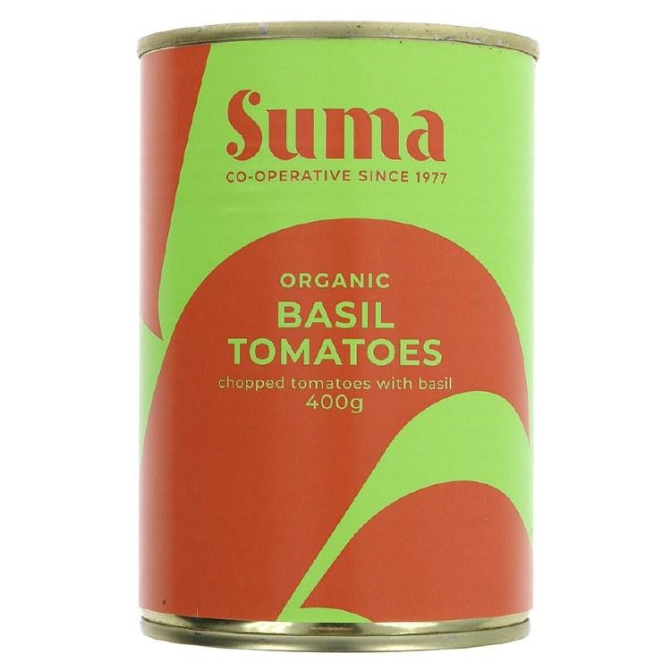 Organic Basil Tomatoes