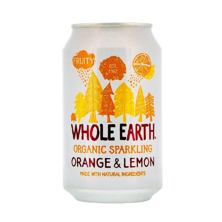 Organic Sparkling Orange & Lemon